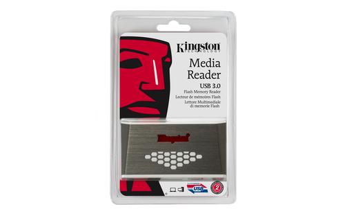 Kingston Kartenleser - USB 3.0 - Extern - CompactFlash Type I, CompactFlash Type II, SD, SDHC, SDXC, microSD, microSDHC, m