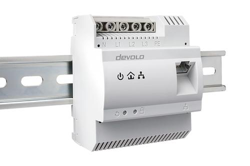 devolo dLAN pro 1200 DINrail Powerline Hutschienenadapter Powerline Adapter für die Schaltschrank-Integration Ideal für Ge