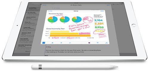 Apple Pencil Stylus - Tablet Unterstütztes Gerät