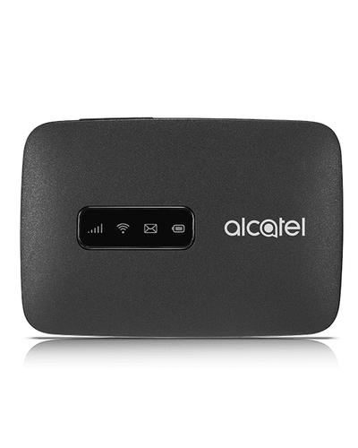 Alcatel LINKZONE 4G LTE. Gerätetyp: Router für Mobilfunknetz, Produktfarbe: Schwarz, Gehäusematerial: Kunststoff. Wi-Fi-St