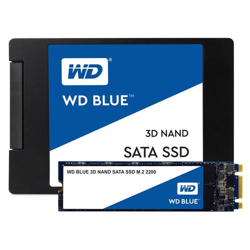 WD Blue Solid State-Laufwerk - M.2 2280 Intern - 500 GB - SATA (SATA/600) - 560 MB/s Maximale Lesegeschwindigkeit - 5 Jahr
