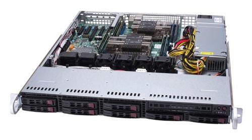 1U BARE 2XXEON C621 8X2.5HS 600W 2TB SATA3 2XGBE 1PCIE