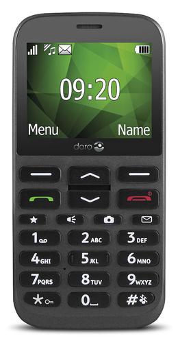 """Doro 1370. Form factor: Bar. Display diagonal: 6.1 cm (2.4""""). Rear camera resolution (numeric): 3 MP. Bluetooth. FM radio."""