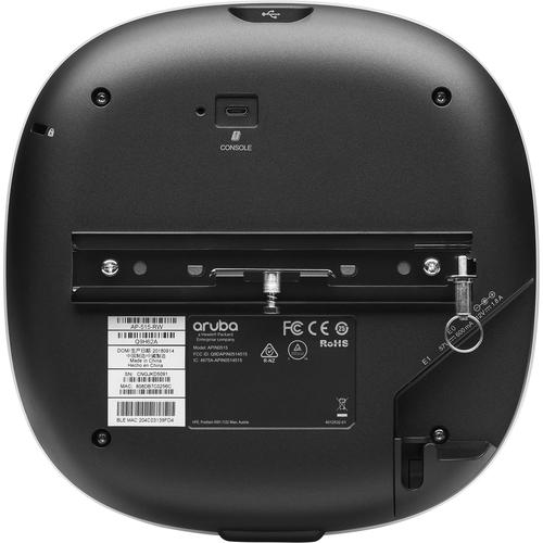 HPE AP-515 802.11ax 5,40 Gbit/s Drahtloser Access Point - 2,40 GHz, 5 GHz - MIMO-Technologie - 2 x Netzwerk (RJ-45) - Blue