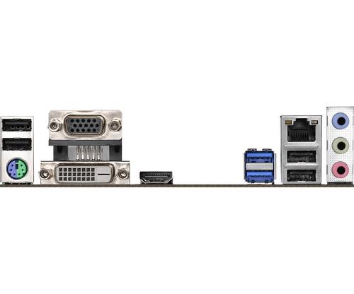 Asrock H310CM-HDV. Fabricant de processeur: Intel, Socket de processeur (réceptable de processeur): LGA 1151 (Emplacement