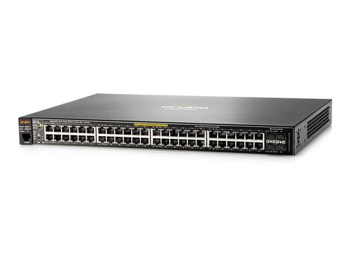 HPE 2530-48G-PoE+ 48 Anschlüsse Verwaltbar Ethernet-Switch - 2 Unterstützte Netzwerkschicht - Verdrilltes Doppelkabel - Po