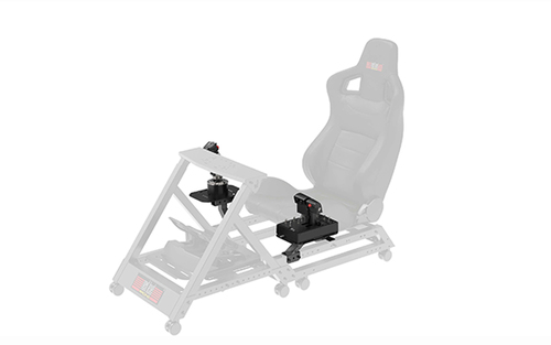 Next Level Racing F-GT/GTTRACK. Product type: Flight stand kit, Product colour: Black, Compatible products: Next Level Rac