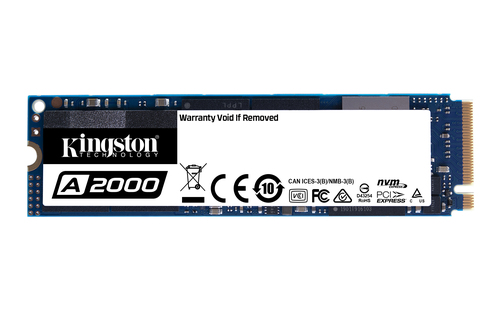 Kingston Solid State-Laufwerk - M.2 2280 Intern - 250 GB - PCI Express (PCI Express 3.0 x4) - Notebook, Desktop-PC Unterst