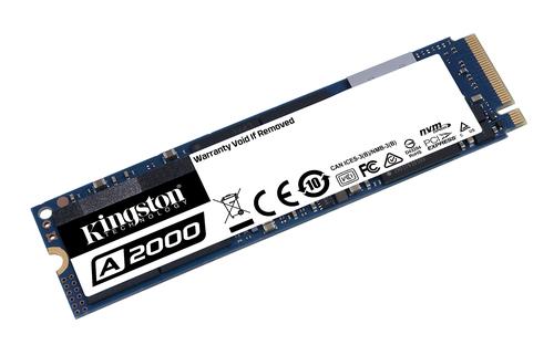 Kingston Solid State-Laufwerk - M.2 2280 Intern - 500 GB - PCI Express (PCI Express 3.0 x4) - Notebook, Desktop-PC Unterst