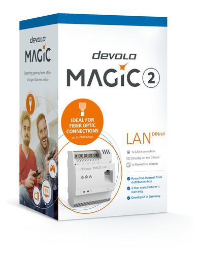 MAGIC 2 LAN DINRAIL FACHHANDEL