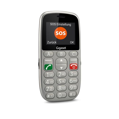 Gigaset GL390. Formfaktor: Balken. Sim Card Steckplätze: Dual-SIM. Bildschirmdiagonale: 5,59 cm (2.2 Zoll), Bildschirmaufl