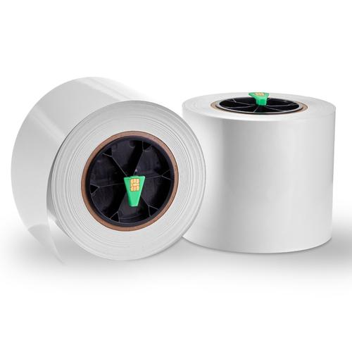PRIMERA 057211. Produktfarbe: Weiß, Etikettentyp: Selbstklebendes Druckeretikett, Typ: Etikettenrolle. Bogenbreite: 12,1 c