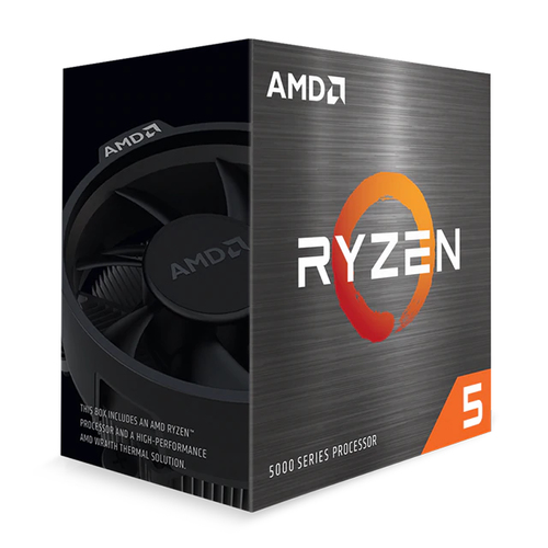 AMD Ryzen 5 5000 5600X Hexa-Core 3,70 GHz Prozessor - Retail Paket - 32 MB L3 Cache - 3 MB L2 Cache - 64-Bit-Verarbeitung