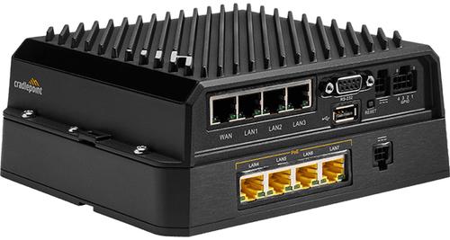 Cradlepoint MB-RX30-POE. Produktfarbe: Schwarz. Power over Ethernet (PoE) Spannung: 60 V